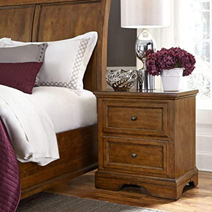 Universal Broadmoore Furniture Margo Nightstand 2 Drawers Bedside
