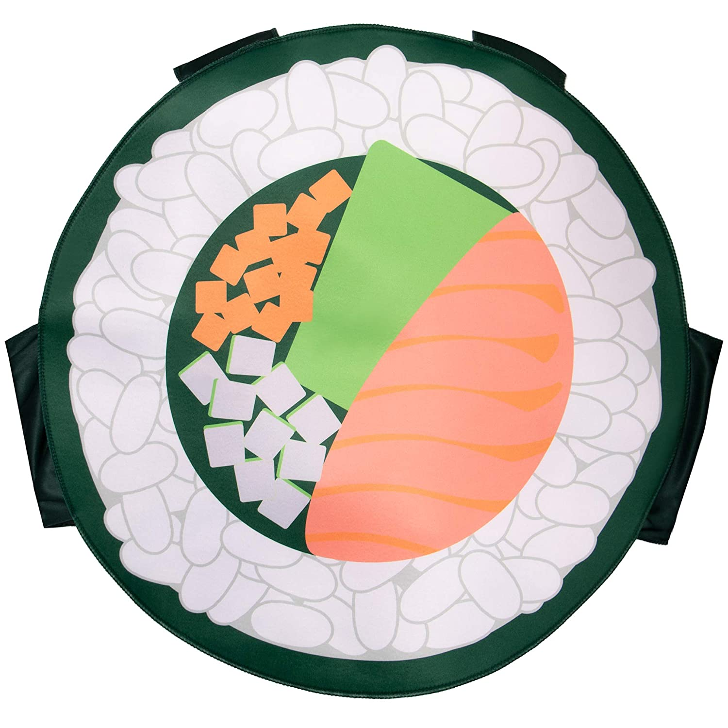 Amazon.com: Boo Inc. Sushi Roll - Disfraz de Halloween ...