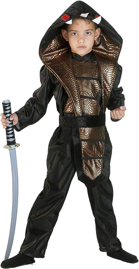 Clown Republic - Disfraz de Ninja Cobra para niño 37008/08 ...