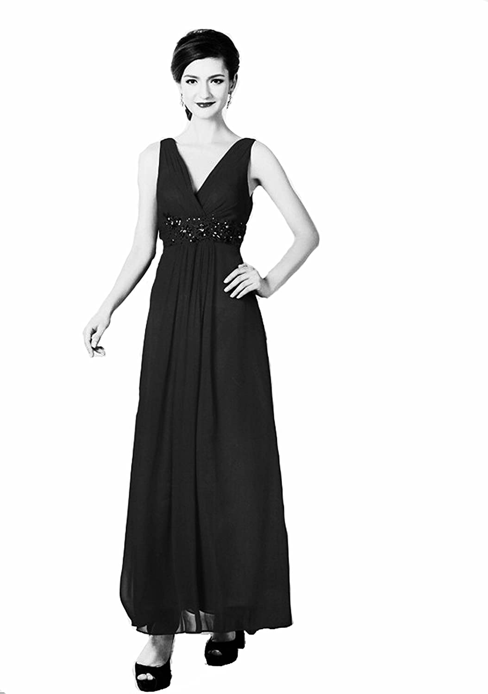 Abendkleider lang schwarz gunstig