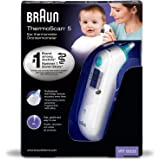 Braun IRT6020MNLA Thermomètre auriculaire infrarouge ThermoScan®5