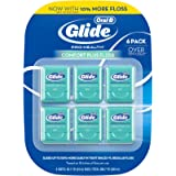 Glide Crest Comfort Plus Dental Floss Mint 40m each (6 pack)