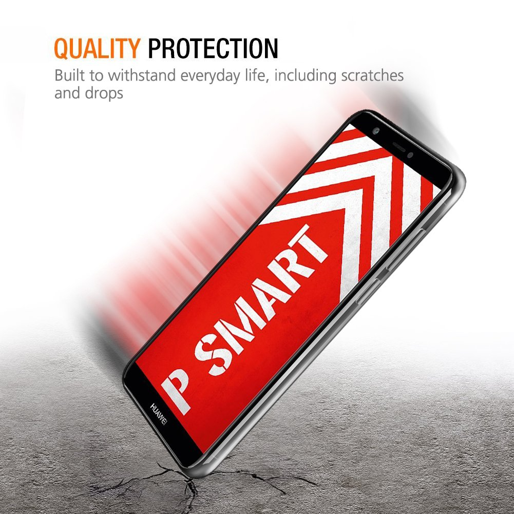 Funda Huawei P Smart Blanco morado Eouine C/árcasa Silicona 3d Suave Gel TPU Transparente con Dibujos Marmol Dise/ño Antigolpes de Protector Bumper Case Cover Fundas para Movil Huawei P Smart 2018
