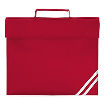 Quadra classic book bag in red