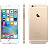 Apple iPhone 6S Factory Unlocked Cellphone w/ 1 YEAR EXTENDED CPS LIMITED WARRANTY (Certified Refurbished) (Gold (16Gb))