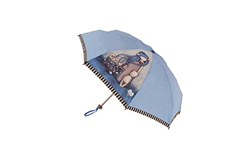 Paraguas Plegable Funda Rígida Dear Alice Santoro Gorjuss