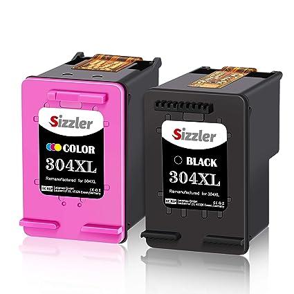 Sizzler 304XL Remanufacturado Cartuchos de Tinta Reemplazo para HP ...