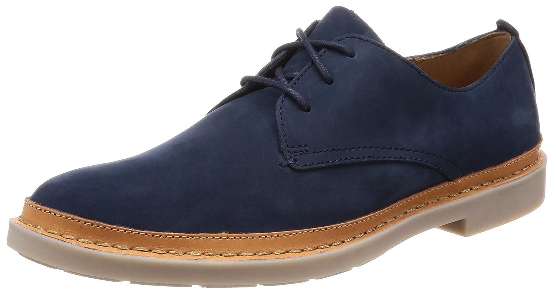 Clarks Schuhe Mann geschnürt 26132508 Blau