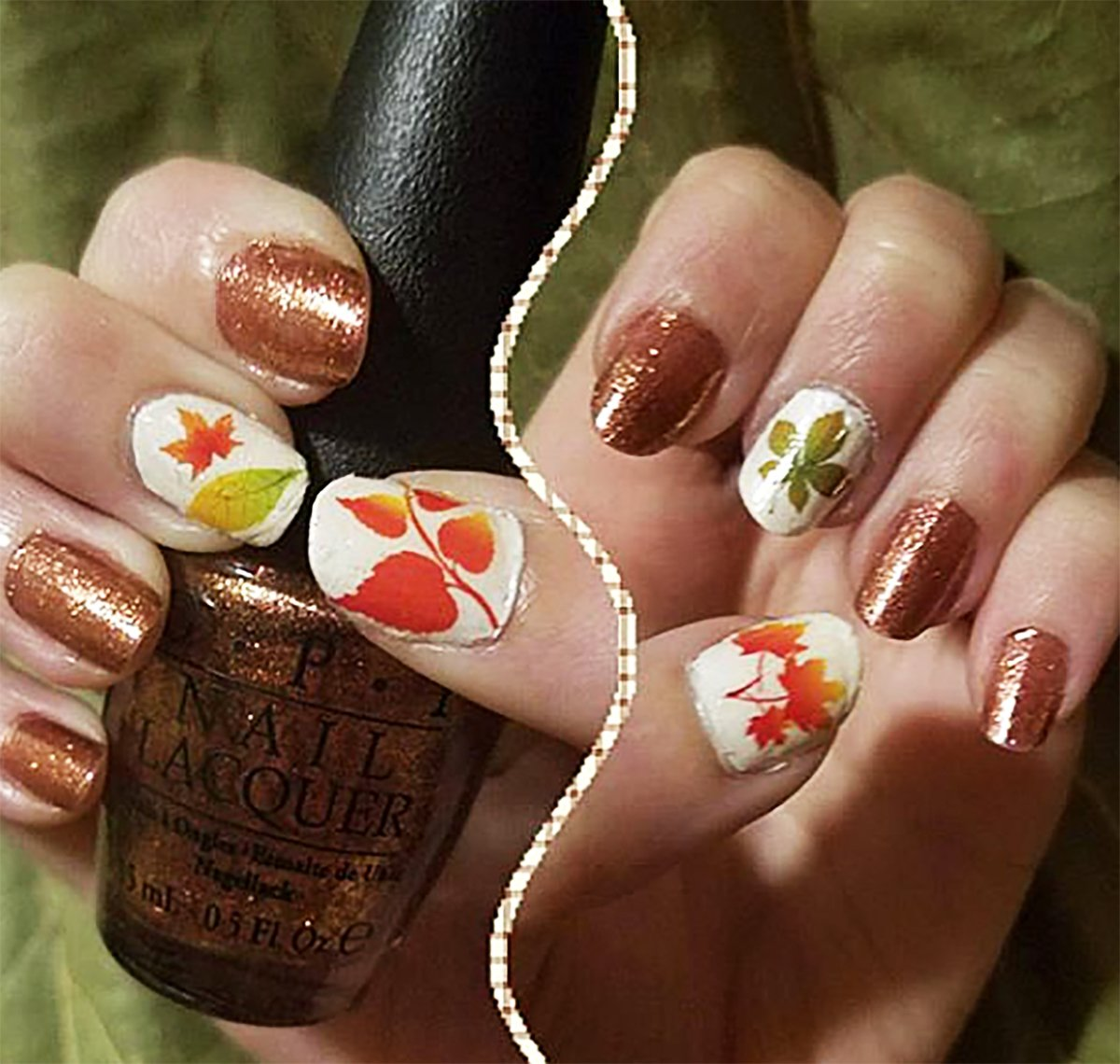 Amazon.com: Autumn - Fall Leaves Water Slide Nail Art Decals Set #2 ...