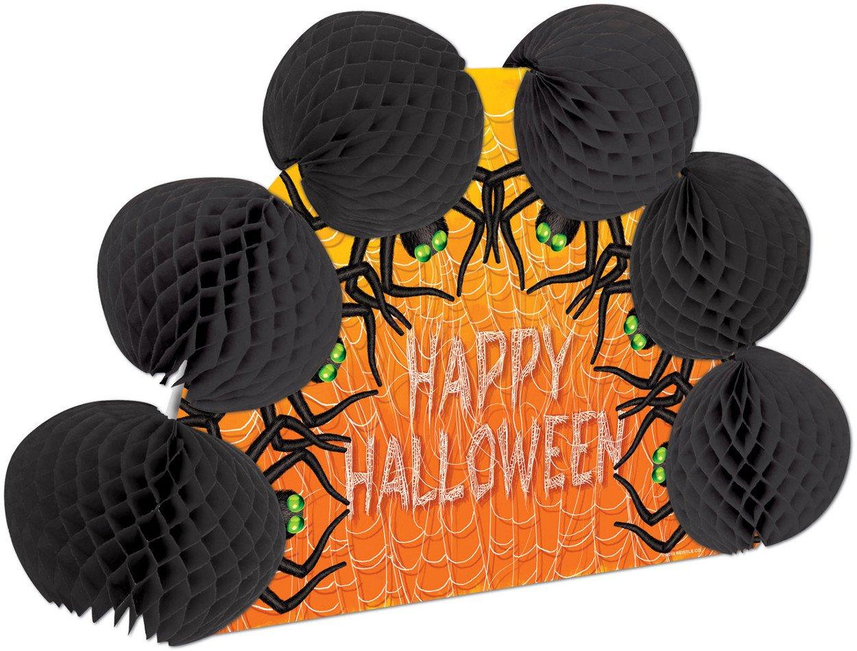 Halloween Spiders Pop-Over Centerpiece Party Accessory (1 count) (1/Pkg)