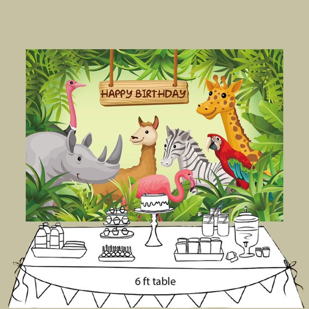 Fivan Cartoon Fotohintergrund Für Geburtstag Dessert Kamera