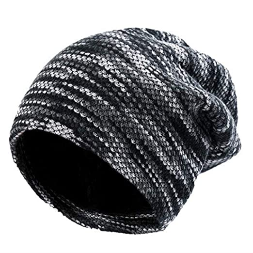 1e9ccb51ea61d Pawya Winter Knit Beanie Thick, Soft, Warm Chuck Hats Unisex for Men and  Women
