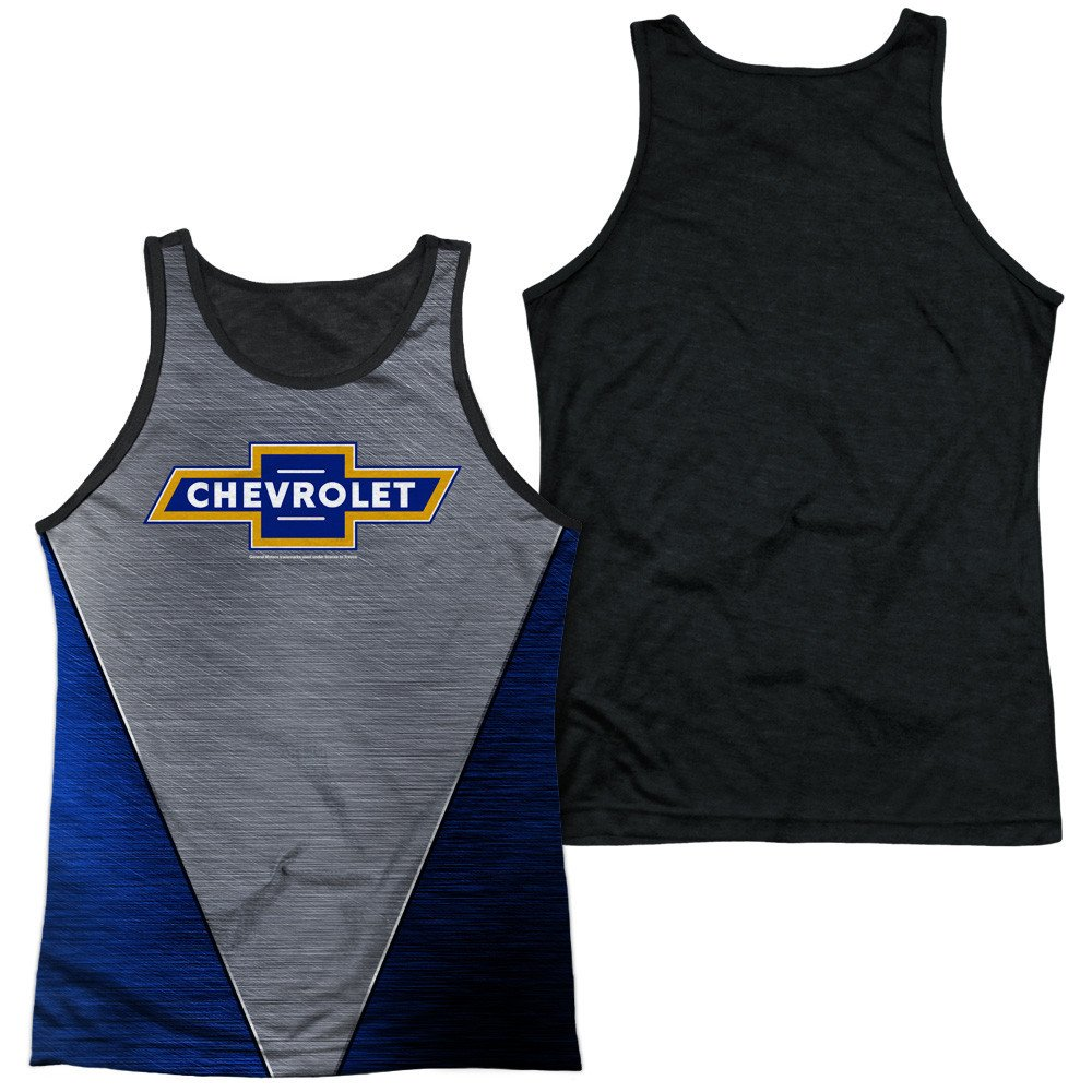 Chevrolet Shiny Chevy Logo Adult Tank Top