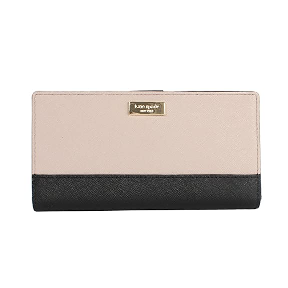 Kate Spade New York Laurel Way Stacy Snap Wallet (Almndne/ Black)