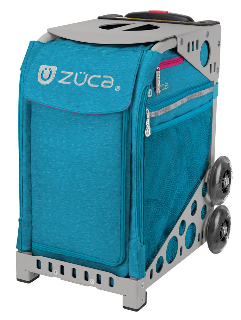 Zuca Beachy Blue Sport Insert Bag with your choice of Sport Frame Color (Gray)