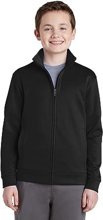 Sport-Tek Boys Fleece Full-Zip Jacket