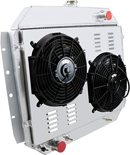 Primecooling - Radiador de aluminio con ventilador (3 filas ...