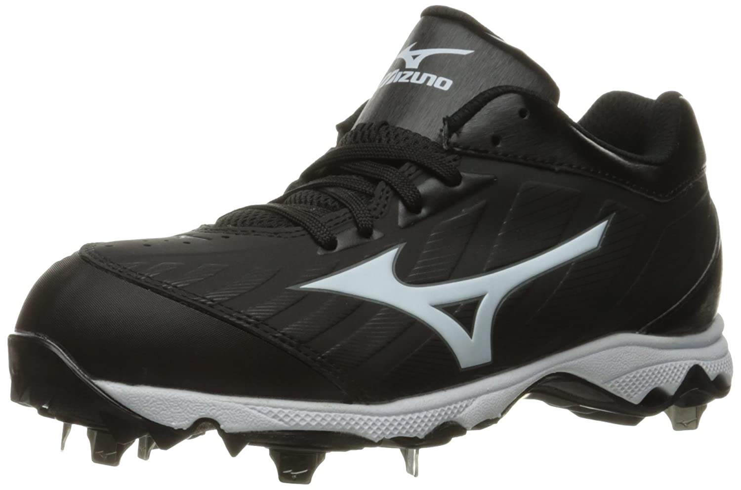 Mizuno Womens 9-Spike Advanced Sweep 3 Low Top Lace Up Baseball Shoes B01HQE1REA 9 C/D US|ブラック/ホワイト ブラック/ホワイト 9 C/D US
