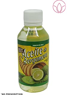 Aceite de bergamota 100% Natural Bergamot Oil 120 ml. Helps the growth of beard