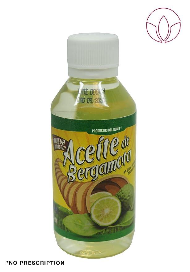 Aceite de bergamota 100% Natural Bergamot Oil 120 ml. Helps the growth of beard and mustache.