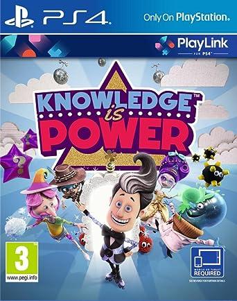 Resultado de imagen de knowledge is power ps4