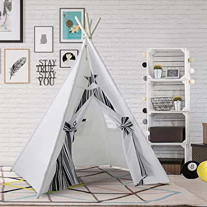 Kids Teepee Play Tent for Kids Boys Children Play Teepee Tent for Indoor Outdoor Play Indian & Amazon.com: Kids Teepee Play Tent for Kids Boys Children Play Teepee ...