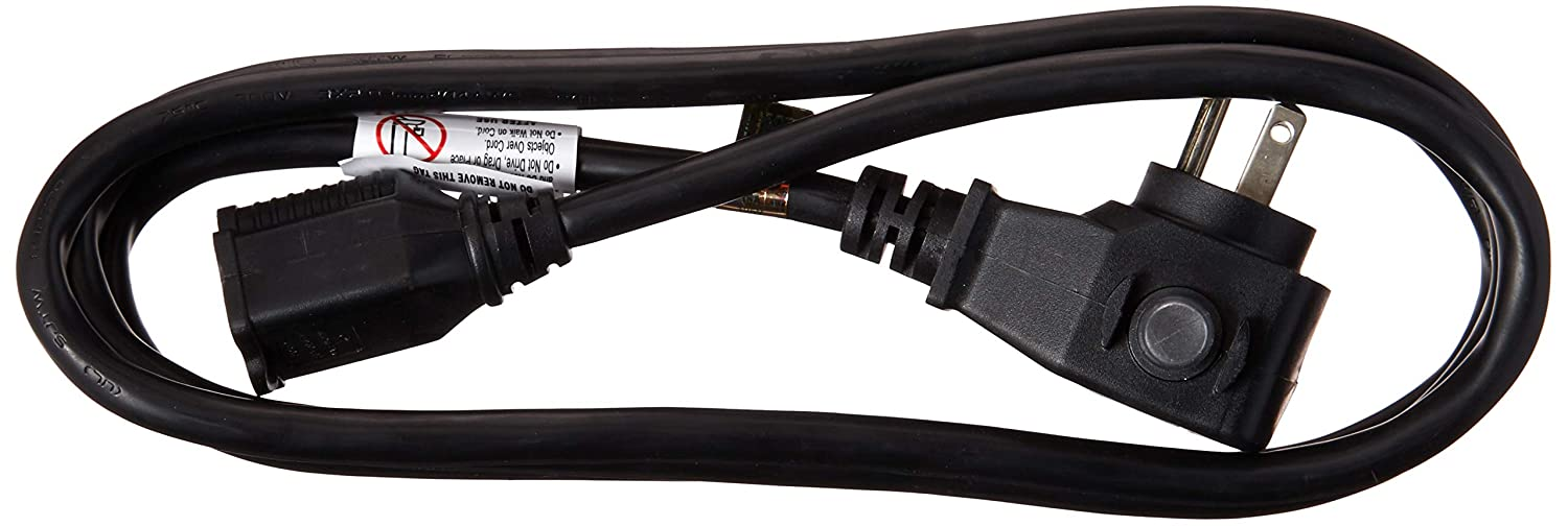 14 Gauge Power All Commercial Grade 125 Volt 50 Foot Cord Black with Circuit Breaker