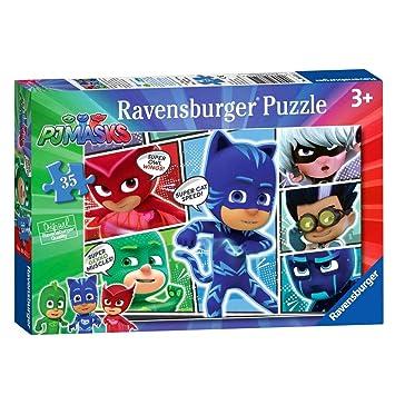 Ravensburger Rompecabezas | 35 Piezas | Héroes en Acción | PJ Masks | Puzzle