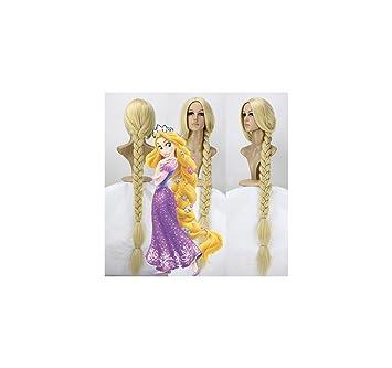 Rapunzel - Peluca Adulto/Niña
