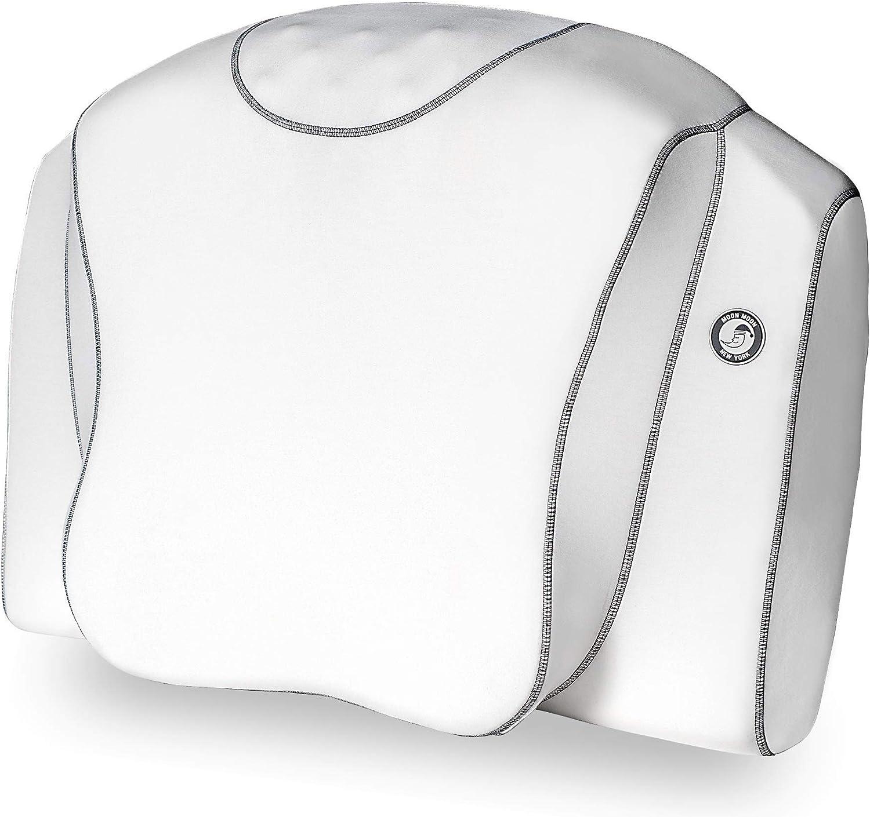 ムーンムーン 横向き寝 枕 いびき いびき防止 まくら 睡眠時無呼吸症候群 無呼吸 人気 マクラ ストレートネック 快眠 グッズ 安眠 健康 肩こり CPAP YOKONE3 ヨコネ moonmoon ( 白 )