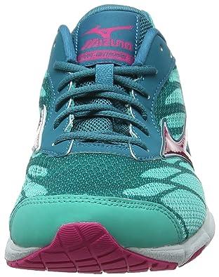 Amazon.com | Mizuno Wave Hitogami 3 Womens Running Shoes - SS16-6.5 - Blue | Road Running