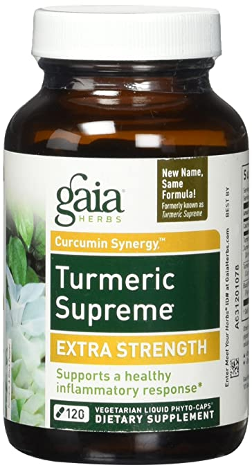 Image Unavailable Not Available For Color Gaia Herbs Turmeric Supreme Extra Strength