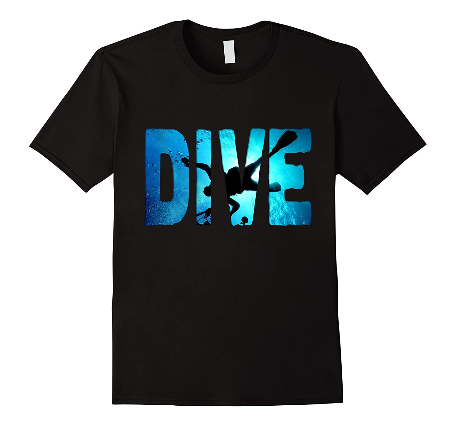 Scuba Diving t-Shirt Diver in The Deep Water