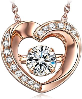 collier argent femme coeur pas cher