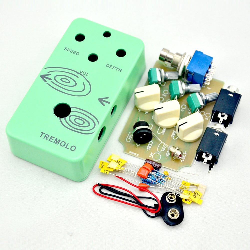 TTONE DIY Analog Tremolo Effect pedal with Full Diy Kits