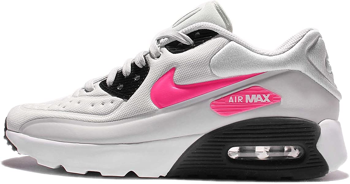 low priced 4069e 27dec ... official kids air max 90 ultra se gs pure platinum hyper pink white  black youth size