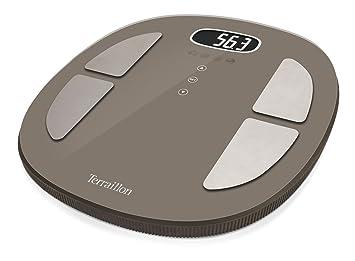 Terraillon Pop Coach Báscula Personal electrónica Ovalado Marrón - Báscula de baño (LCD, 85