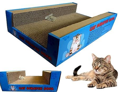 FiNeWaY @ rascador gato sofá salón incluye cat-nip cartón Scratch Post gato cama