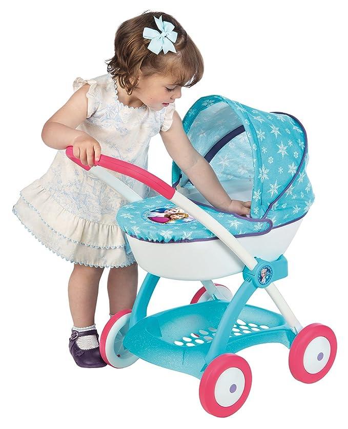 Amazon.es: Smoby 254145 Frozen - Cochecito con capota para muñecas: Juguetes y juegos