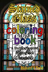 Stained Glass Coloring Book: A liturgical inspired adult coloring book. Paperback