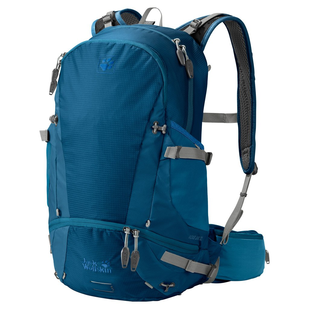 91b0251be50 Amazon.com: Jack Wolfskin Moab Jam 30l Versatile Dual Chamber Biking &  Hiking Backpack, Glacier Blue: Sports & Outdoors