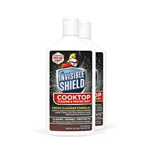 Invisible Shield Cooktop Cleaner & Protectant (2 Pack)