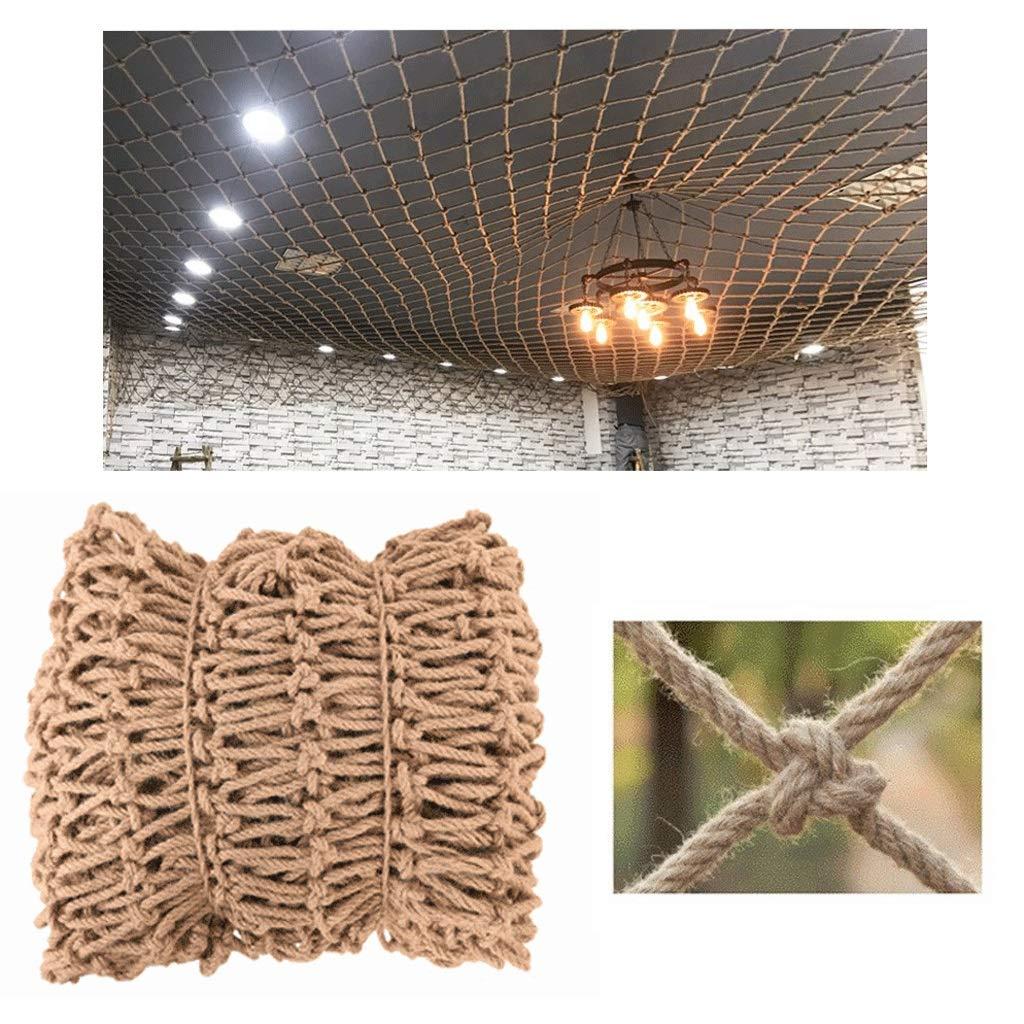 遮光ネット迷彩ネット 網の天井の網純ライト付属品の足場の網の産業風のパンクの装飾12mm / 15cm多数のサイズ 屋外の日陰の庭に適しています (Size : 6*10M(19.7*32.8ft))  6*10M(19.7*32.8ft)