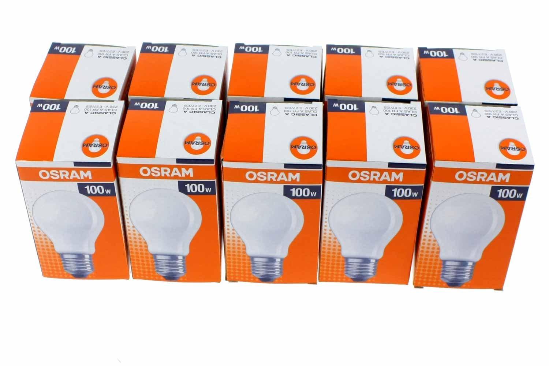 Osram 30800003 E, lampada a incandescenza, Vetro, opaco, E14 40W 30800014