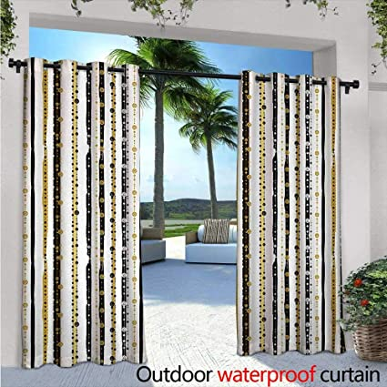 Amazoncom Striped Outdoor Free Standing Outdoor Privacy