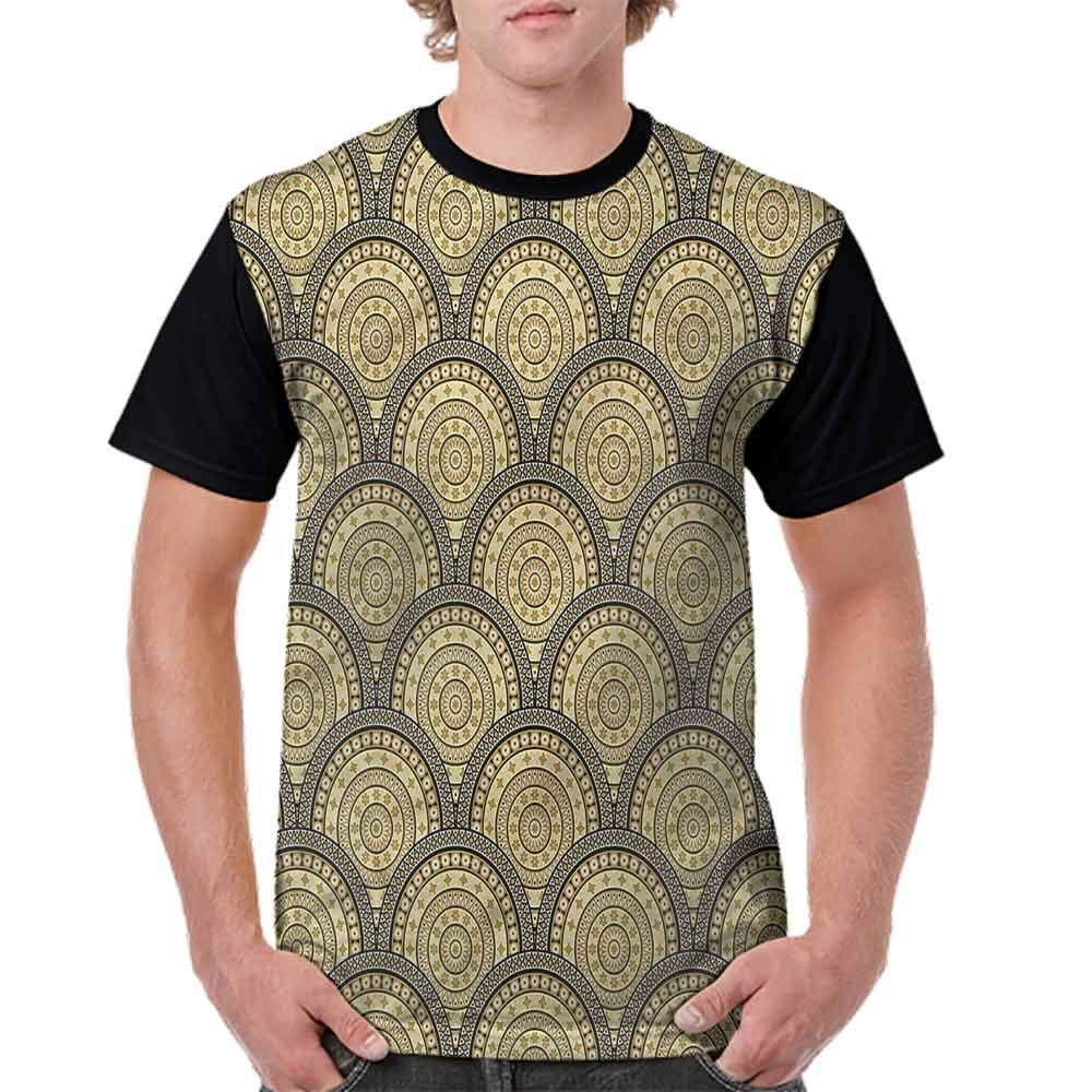 Fashion T-Shirt,Middle Eastern Lace Fashion Personality Customization