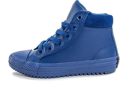 8b7307cf6be8a Converse Kinder High Chuck Taylor Allstar Boot PC Kinder Sneaker blau  654311C blau 267344