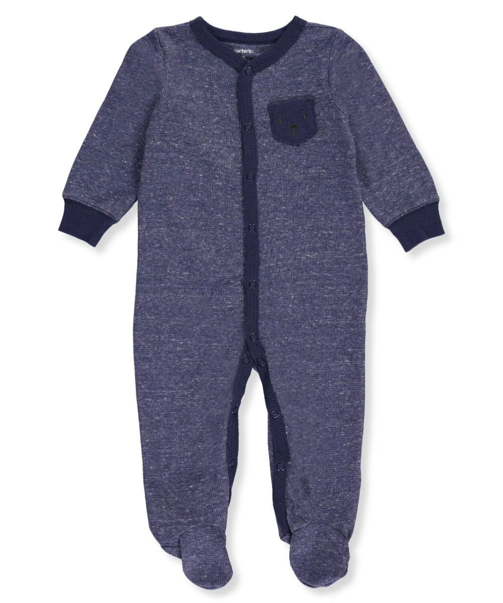 48b3eb3839 Carter  039 s Baby Boys  039  One Piece Footed Sleeper Newborn  Amazon.in   Baby