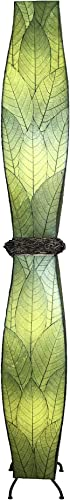 Gemini Cocoa Leaves Floor Lamp