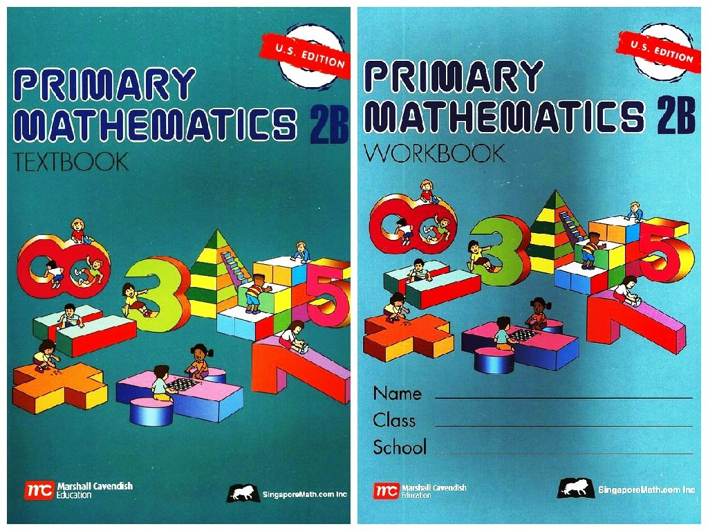 Read Online Primary Mathematics 2B SET--Textbook and Workbook PDF